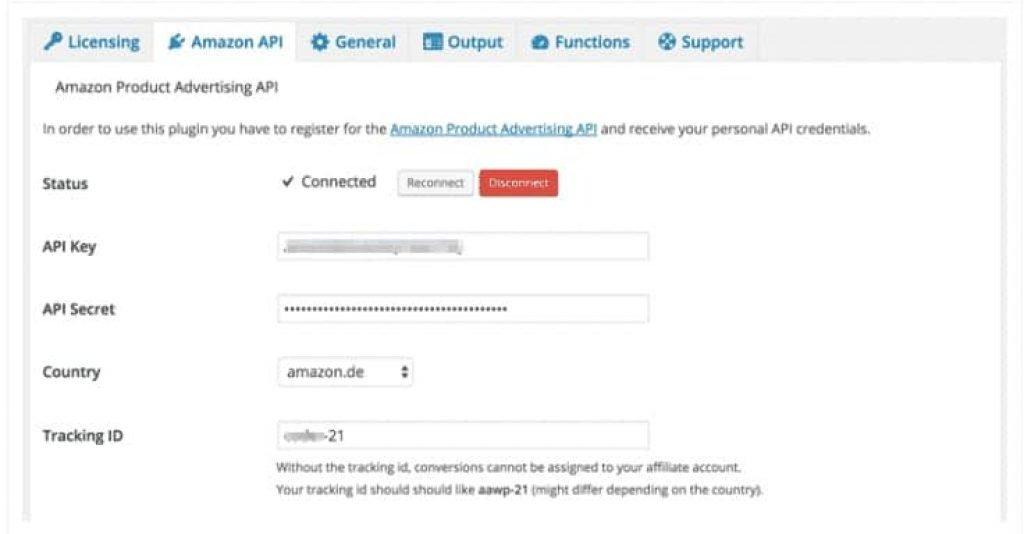 AAWP Amazon API