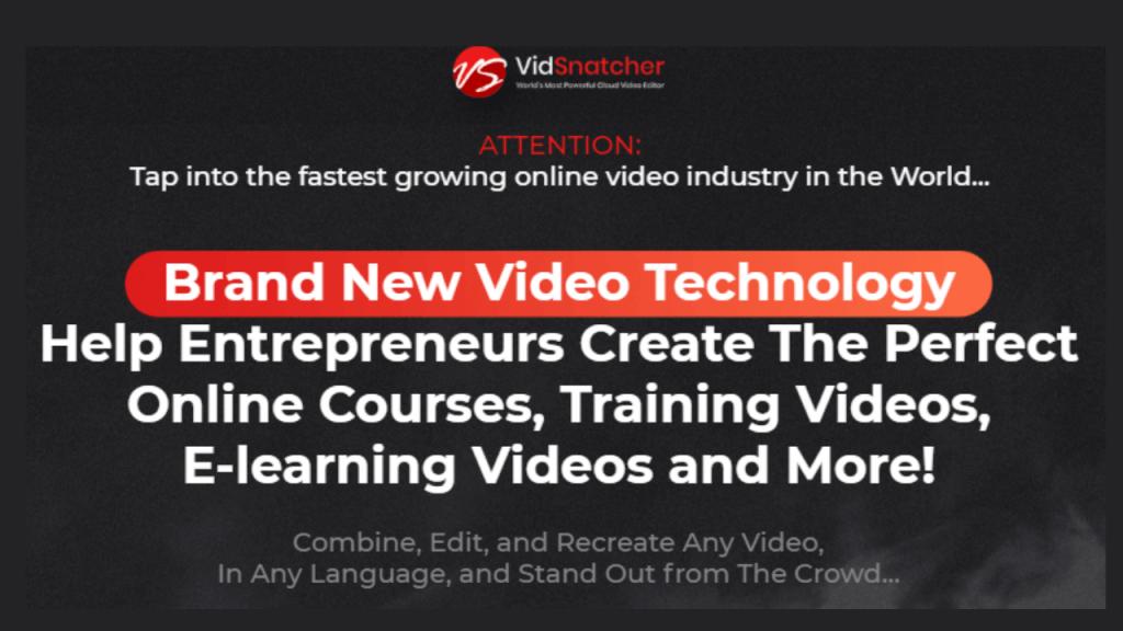 VidSnatcher 2 Commercial Review