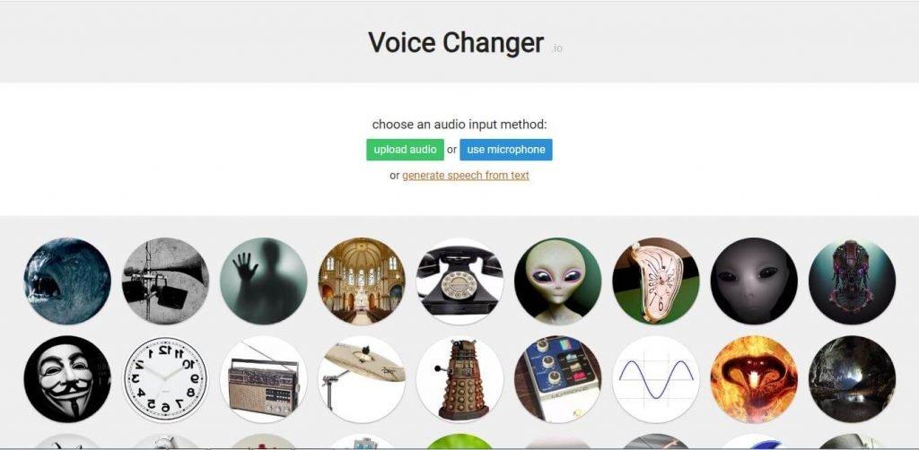 Voice Changer. io