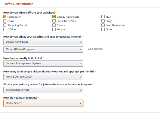 Amazon Affiliate Targeted Traffic Page