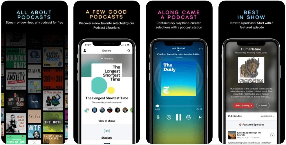 RadioPublic  Podcast App