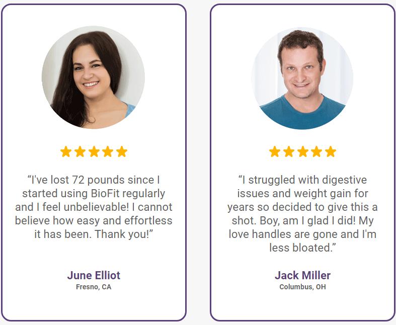 BioFit Customer Reviews