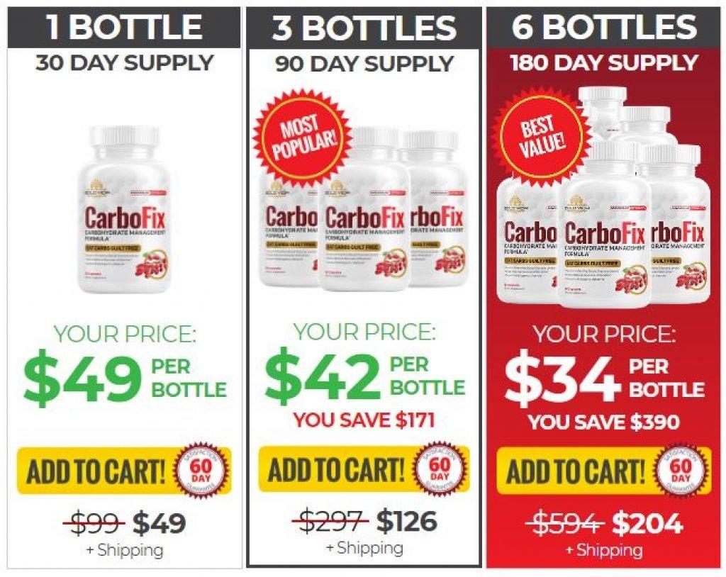 CarboFix Pricing