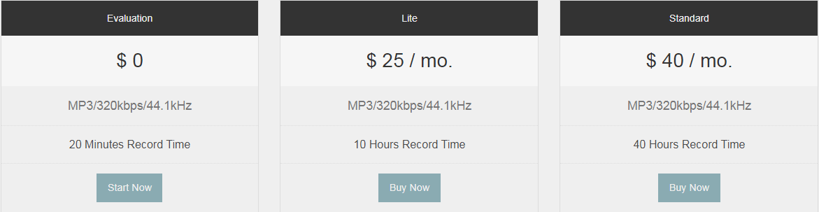 ClearCast Pricing