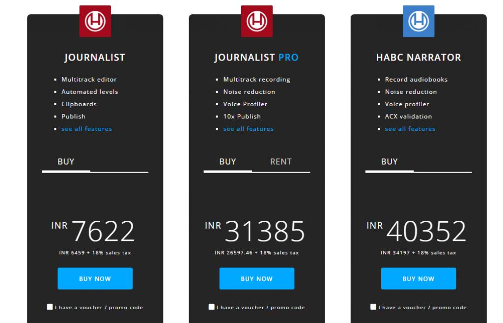 Hindenburg Journalist Pricing