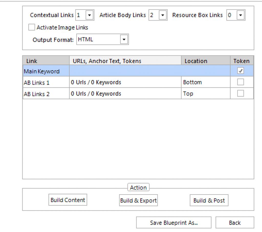 Kontent machine link settings
