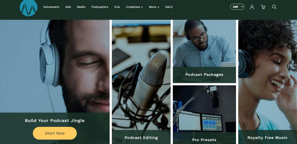 Music Radio Creative