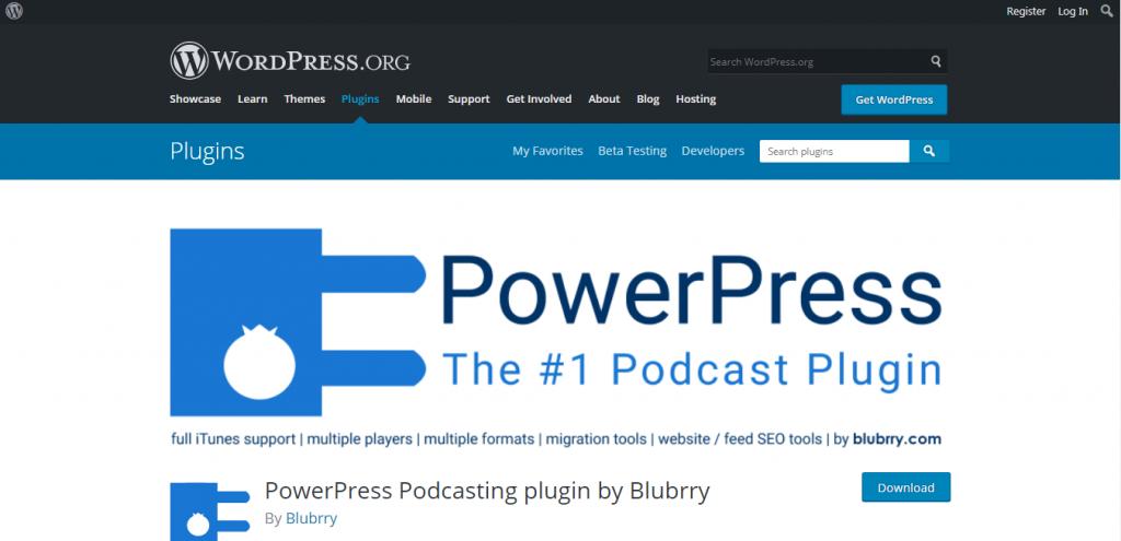PowerPress embed player