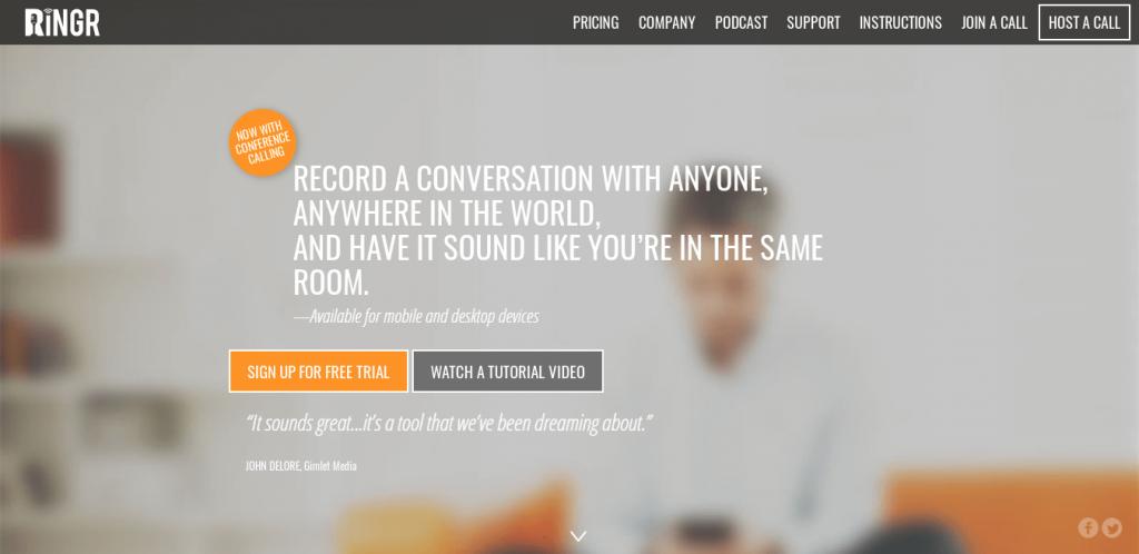 Ringr Interview Software