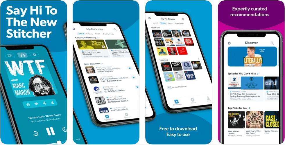 Stitcher Podcast App