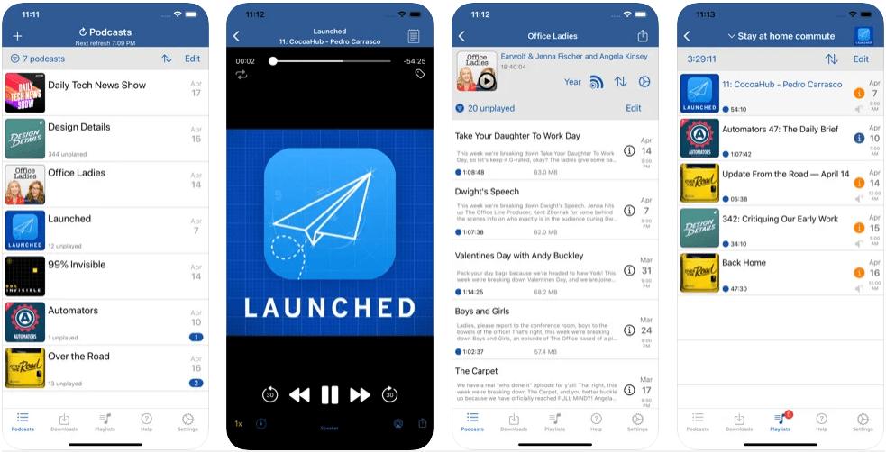 iCatcher iOS podcast app