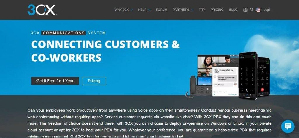3CX VOIP Service Provider