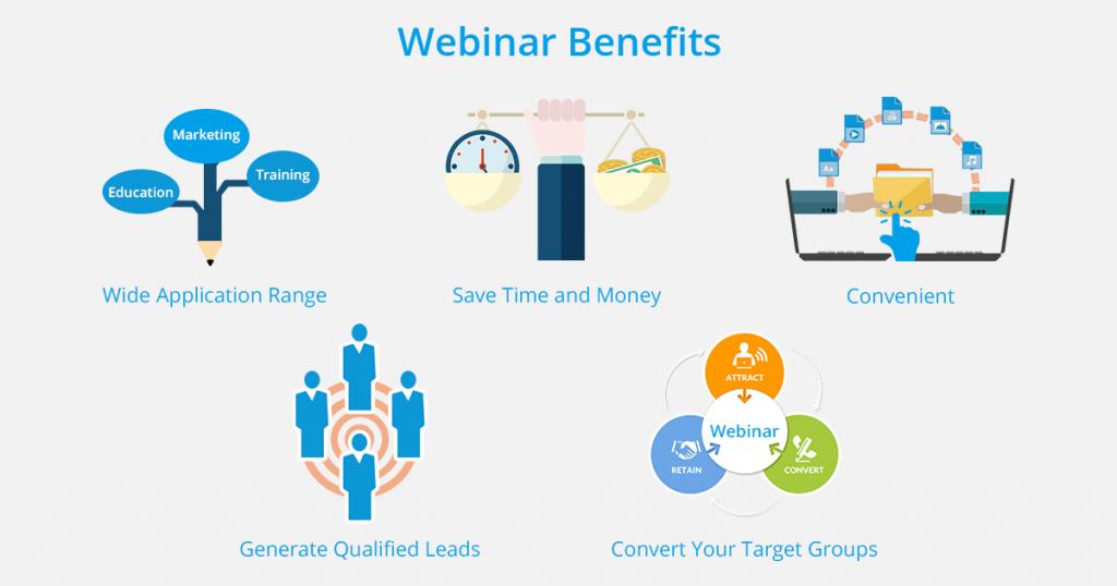 Benefits of webinar software