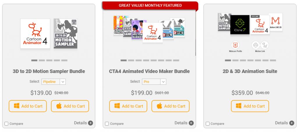 Cartoon Animator 4 pricing