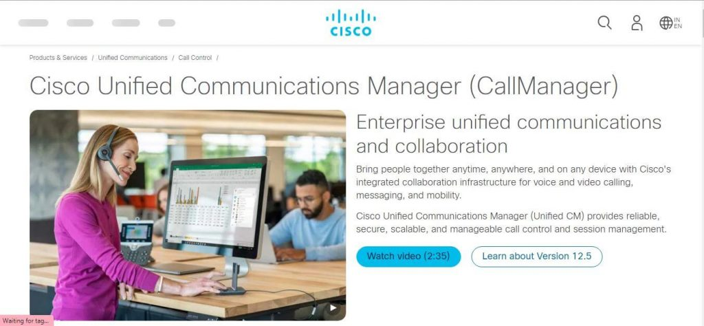 Cisco Unified Communications Manager