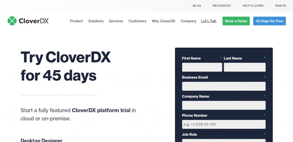 CloverDX pricing