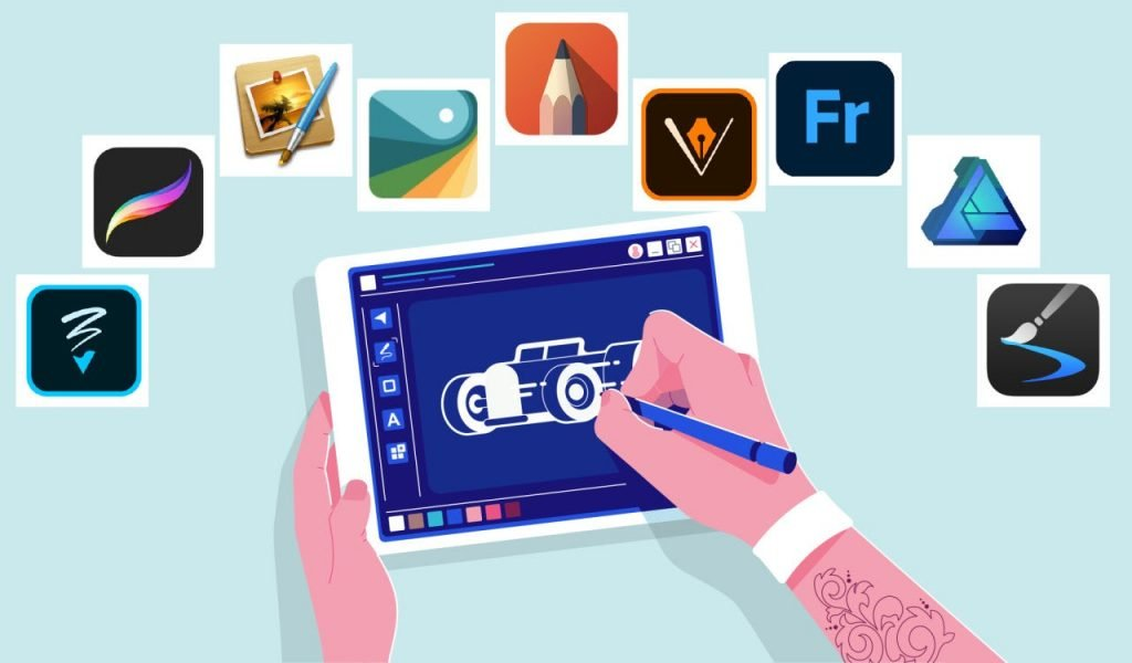 Things to look in a drawing software