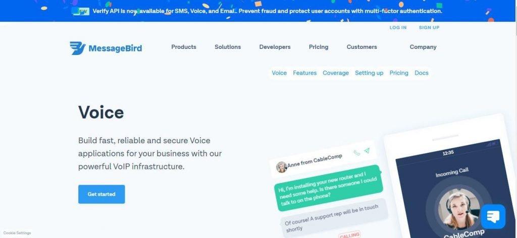 messagebird Voip Service Provider