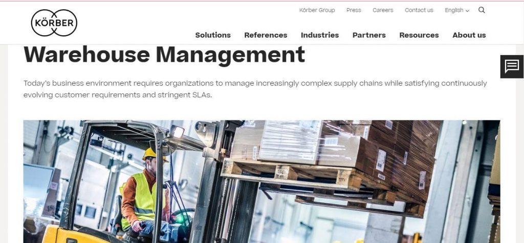 Korber Warehouse Management System