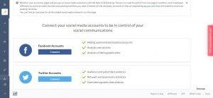 SE Ranking Social Media Management Tool